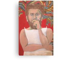 Self Portrait in costume 1966 Canvas Print
