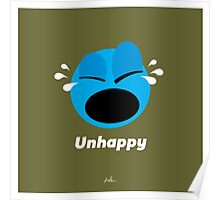 Emotions, Unhappy. Poster
