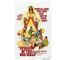 INVASION OF THE BEE GIRLS B MOVIE Photographic Print