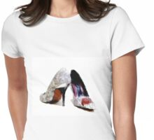 High heels 1 Womens Fitted T-Shirt