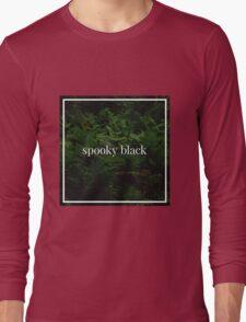 Spooky Black Long Sleeve T-Shirt