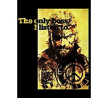 MGS The only boss Photographic Print