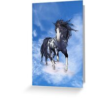 Cloud Runner Greeting Card