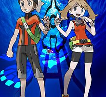 Pokemon omega ruby and alpha sapphire by ericau18