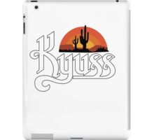 KYUSS BLACK WIDOW STONER ROCK QUEENS OF THE STONE AGE CLUTCH NEW BLACK iPad Case/Skin