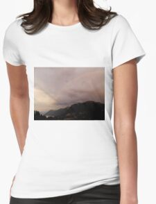 Evening Colours Womens Fitted T-Shirt