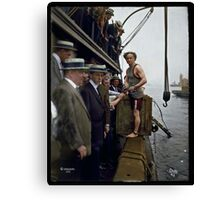 Harry Houdini, 1912 Canvas Print