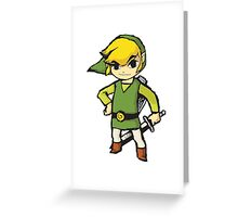 Wind Waker Link Greeting Card