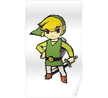 Wind Waker Link Poster