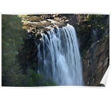 Fitzroy Falls  shutter speed 1/25 Poster