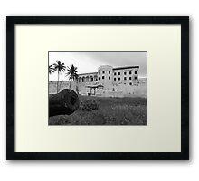 Slave Castle Framed Print