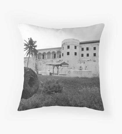 Slave Castle Throw Pillow