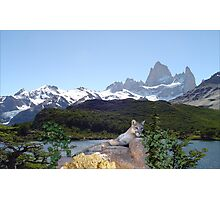 1042B-Cougar Lake Photographic Print