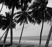 Ghana, beach by Rune Monstad