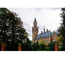 Peace Palace - The Hague Photographic Print