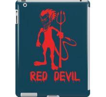 red devil iPad Case/Skin