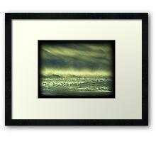 Grandview Autumn Sunset Series - no.1 (redone) Framed Print