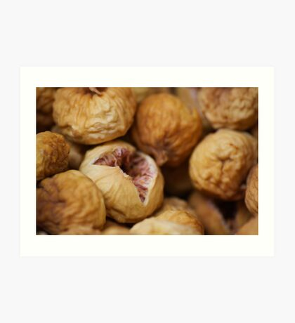 Dried figs Art Print