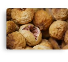 Dried figs Canvas Print