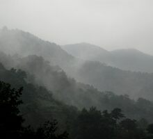 these mist covered mountains by Anthony Mancuso