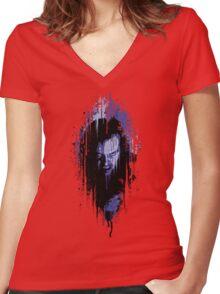 Jack - Shining Women's Fitted V-Neck T-Shirt