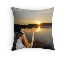 IRISH MUSIC Throw Pillow