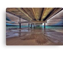 A View Down Under Canvas Print