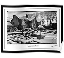 Holdsworth House Halifax West Yorkshire UK  Poster