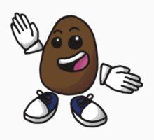 Little Potato Sticker by Foobeezoobee