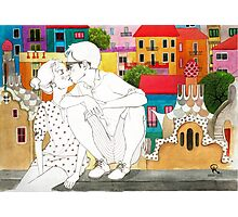 Barcelona Love Photographic Print