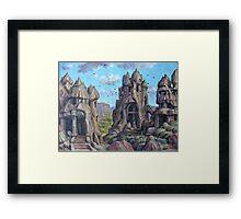 Cappadocia Imaginary Visit Framed Print