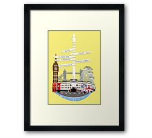 Welcome To London Framed Print