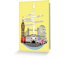 Welcome To London Greeting Card