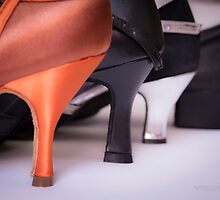 Different heels women shoes by GemaIbarra