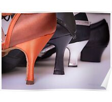 Different heels women shoes Poster