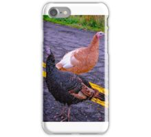 Turkey Crossing iPhone Case/Skin