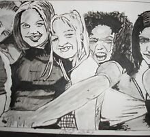 Spice Girls by Colin  Laing