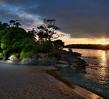 Balmoral  Glow - Balmoral Beach - The HDR Series by Philip Johnson