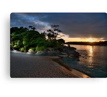 Balmoral  Glow - Balmoral Beach - The HDR Series Canvas Print