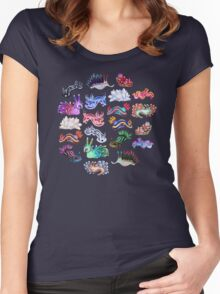 NUDIBRANCH Women's Fitted Scoop T-Shirt
