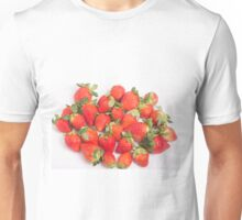 Red Ripe Strawberries Unisex T-Shirt