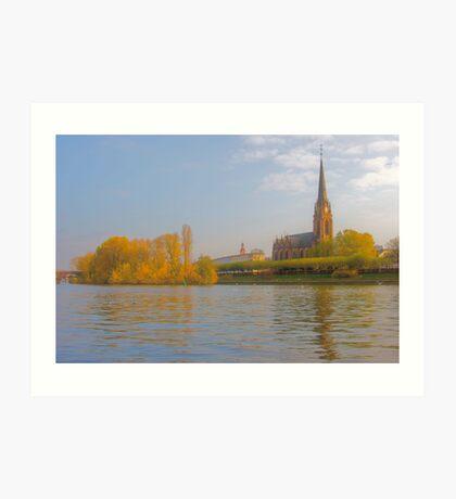 Frankfurt Cathedral Art Print
