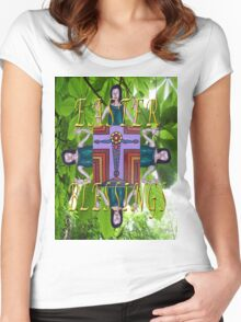 EASTER 2 Women's Fitted Scoop T-Shirt