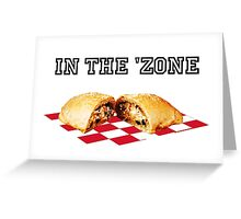 In the 'zone. Greeting Card