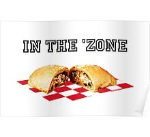 In the 'zone. Poster