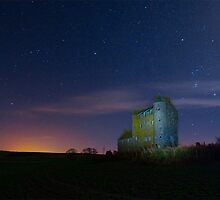 Orion over Inchdrewer Castle by AndyMartin