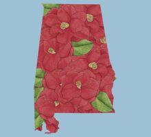 Alabama Flowers Kids Tee