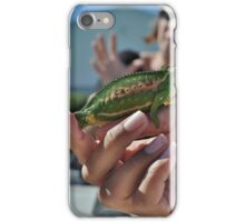 How to handle chameleons.. 101 iPhone Case/Skin