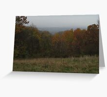 Scenic overlook Greeting Card