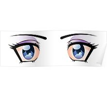 Stylized eyes 2 Poster